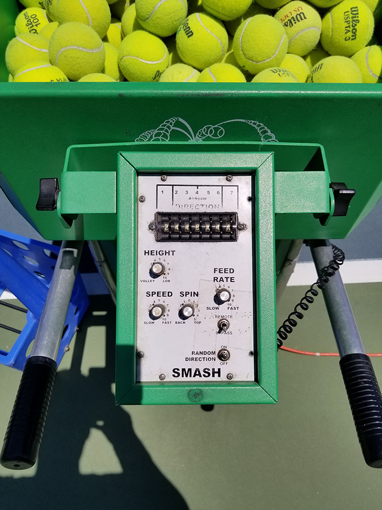 Looking to buy a tennis ball machine -- $1000 - $3000 ...